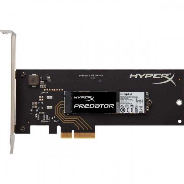 HyperX Predator PCIe SSD 960GB (with HHHL Adapter) (SHPM2280P2H/960G)