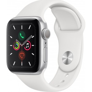 APPLE WATCH 5 40mm GPS GREY WITH BLACK SPORT BAND EU