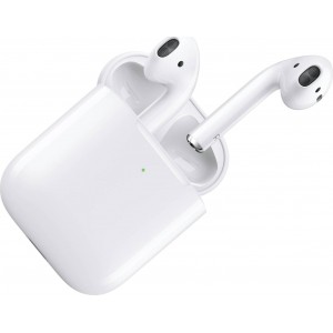 Apple AirPods  (2019) With Wireless Charging Case WHITE