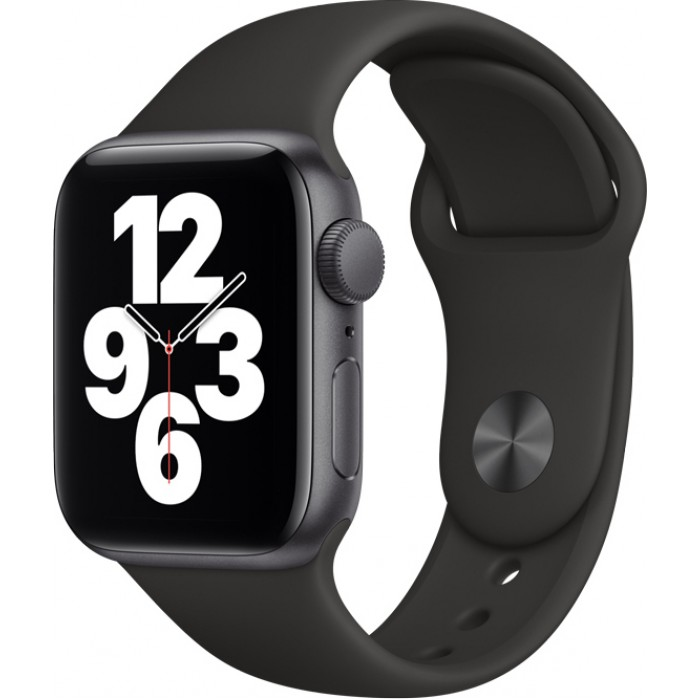 Watch Apple Watch SE GPS 40mm Space Grey Aluminum Case with Sport Band - Black