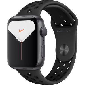 Apple Watch Nike Series 5 44mm Space Gray Aluminium with Nike Sport Band Black