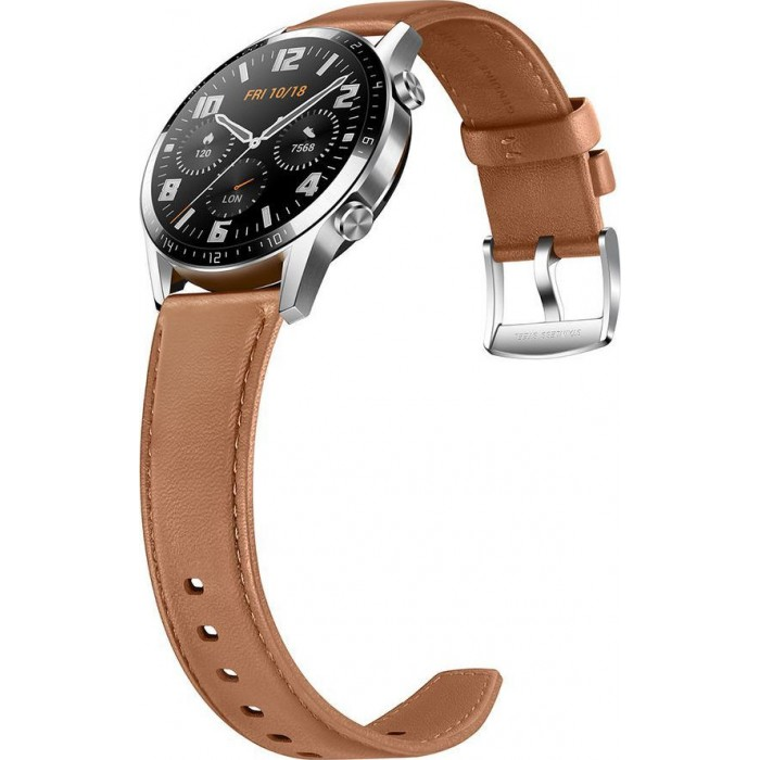 Huawei Watch GT 2 Classic 46mm-Leather Brown
