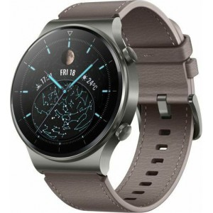 Watch Huawei Watch GT 2 Pro Classic 46mm - Leather Grey EU