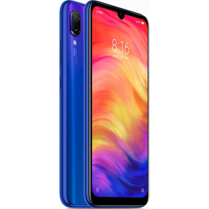 Xiaomi Redmi Note 7 4GB/64GB Dual Sim Blue (Ελληνικό menu-Global Version) EU
